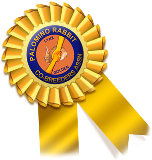 Palomino Rabbit Co-Breeders Association sanctioned shows