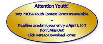 PRCBA Youth Contest Info Available!